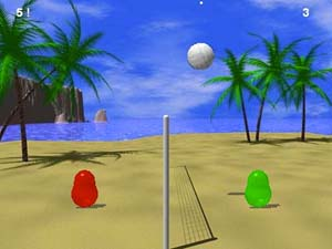 Флэш игры волейбол